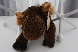 "Kitterly Trading Post Moose Brown Plush Stuffed Animal Toy Doll 17"" - $15.14"