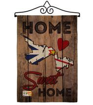 Canada Provinces Newfoundland and Labrador Home Sweet Burlap - Impressions Decor - $33.97