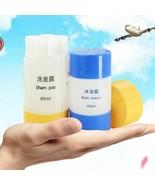Shampoo Containing Empty Bottles Soap Shower Bag Refillable Travel Set S... - $5.44+