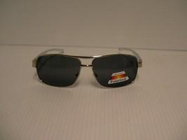 Polarisiert Herren Sonnenbrille Quadratisch Aluminium Arme Feder Tempel ... - $15.80