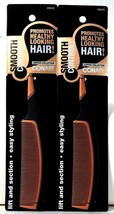 2 Count Conair 93121 Smooth Control Copper Collection Easy Styling Tail Comb - $15.99