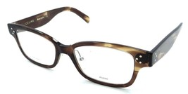 Celine Rx Eyeglasses Frames CL 41438/F 07B 52-18-150 Havana Brown Asian Fit - $178.20