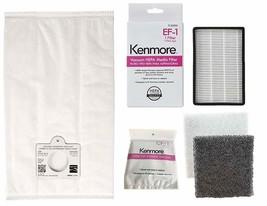 6 Kenmore Q/C  Vacuum Bags + 1 EF 1 (86889) + 1 CF 1 (81002) 5055 50557 ... - $34.95