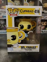 Funko Pop! Games Cuphead Ms. Chalice #416 Vinyl Figure WITH PROTECTOR! - $11.70