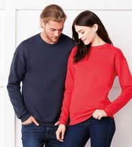 C3945 Bella+Canvas Unisex Drop Shoulder Fleece Crewneck Sweater XS-2XL New!! - $18.30+