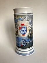 VINTAGE HEILEMAN OLD STYLE BEER STEIN Ceramarte LIMITED EDITION 1985 Pur... - $24.74