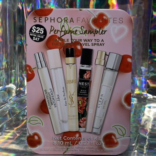 Sephora Favorites VALENTINE Perfume Sampler Nest Viktor + R COMPLETE SET :)