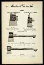 Axes Dunn and Union 1919 Ax Tool AD - $14.99