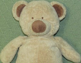 "Ty PLUFFIES TEDDY BEAR 2004 Tan Brown 12"" Stitched Eyes Plush Stuffed Lo... - $23.36"