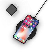 NightPad Fast Wireless Charger - True Apple (Black|NightPad + 15W Charger) - $68.48