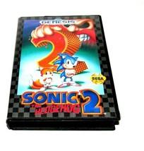 Sonic the Hedgehog 2 (Sega Genesis, 1992) Tested - $19.59