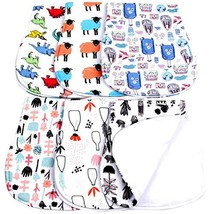 Baby Burp Cloths Boys Girls Unisex Soft Absorbent Baby Burping Rags