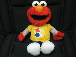 ELMO Doll Hasbro ROCKIN SHAPES & COLORS Talks Sings 2010 Sesame Street M... - $12.82