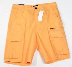 Chaps Light Orange Cargo Shorts Mens NWT - $44.99
