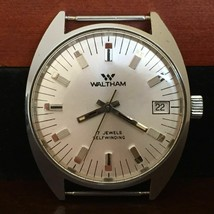 Waltham Automatic Swiss Watch ~ 17 Jewels • FHF-905 Movement • Keeps Great Time - $381.15