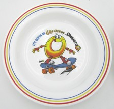 Spaghetti O's Bowl Corelle IT'S GOTTA BE UH-OOO SPAGHETTIO'S Skateboard O - $12.82