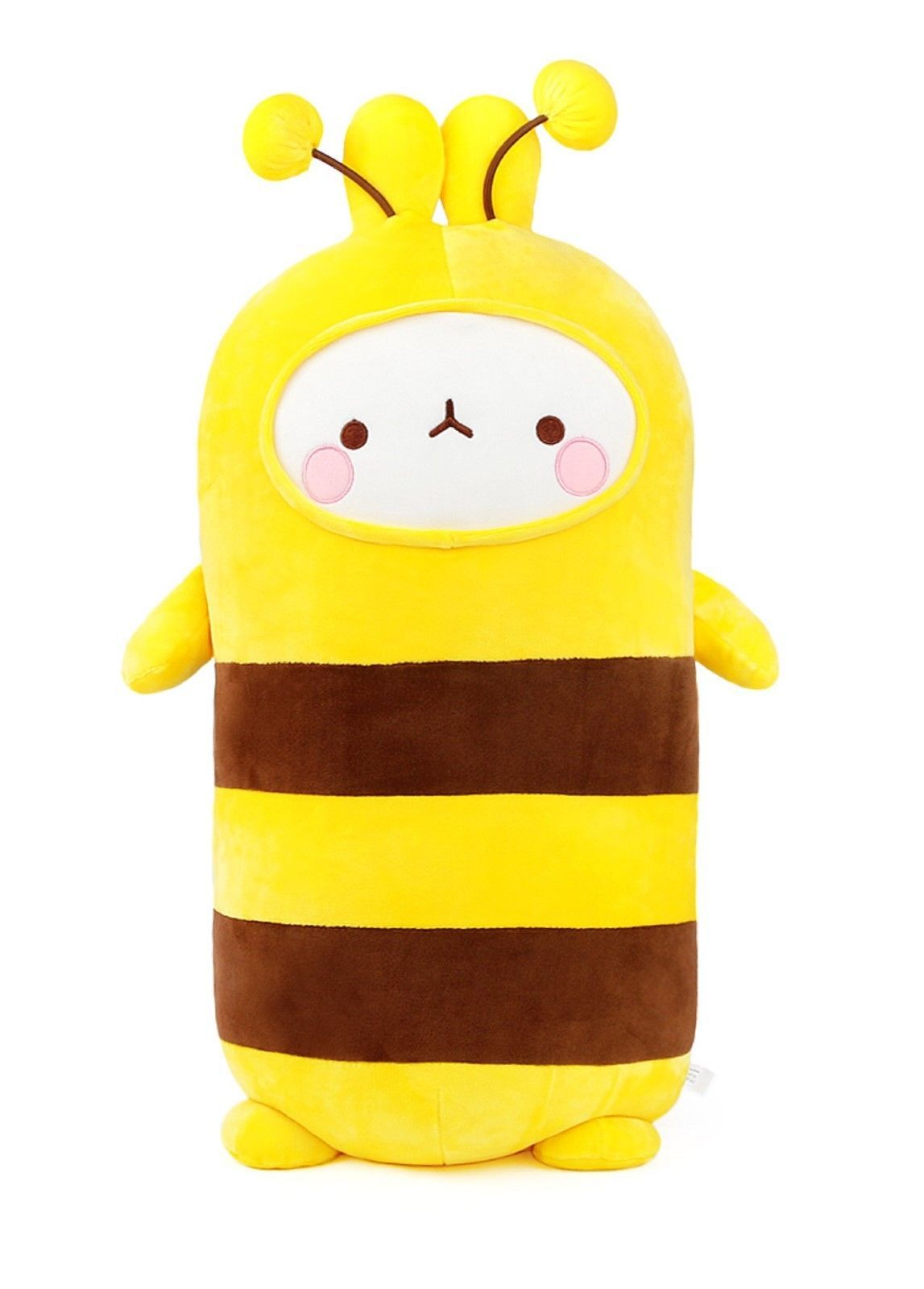 Seyoung Fluffy Stuffed Cute Honey Bee Figurine Animal Soft Mochi Plush Toy