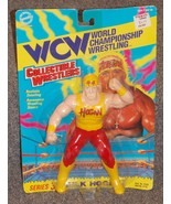 Vintage 1994 WCW Hulk Hogan 7 inch Wrestling Action Figure New In The Pa... - $184.99
