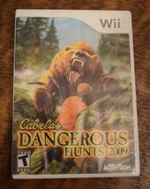Cabela's Dangerous Hunts 2009 (Nintendo Wii, 2008) - $2.97