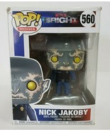 Funko Pop! Movies: Bright Nick Jakoby with Gun #560  - $9.50