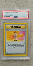 Pokemon Lass 75/102 Shadowless Base Set PSA 10 1999 Pokemon TCG - $99.99