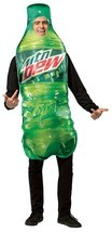 Rasta Imposta Get Real Mountain Dew Soda Bottle Adult Halloween Costume ... - $44.99