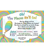 Oh the places you'll go baby shower invitation, Baby Boy Baby Shower Inv... - $9.99+