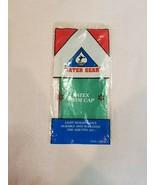 Water Gear Latex Swimming Swim Cap Solid Green - $4.99