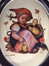 VTG Chick-Girl TR-H371 HUMMEL Oval Metal Tray 1983 ARS : Orig Hummel People - $13.56