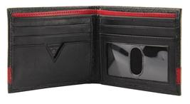 New Guess Men's Leather Credit Card ID Wallet Passcase Billfold Black 31GU13X008 image 6