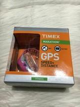 Timex marathon GPS speed distance  pink b13 - $31.78