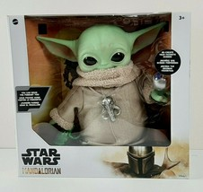 "Star Wars The Child Baby Yoda The Mandalorian 4 Accessories Included 12""... - $43.12"