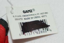 GANZ Brand ER16753 Black White Polka Dot Skirt Coin Purse Fabric Flower image 4