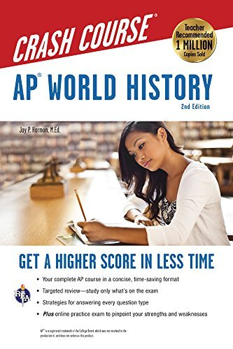 AP® World History Crash Course, 2nd Ed.,  Book + Online (Advanced Placement (AP)