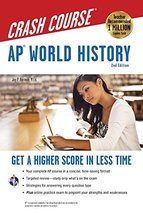 AP® World History Crash Course, 2nd Ed.,  Book + Online (Advanced Placem... - $10.89