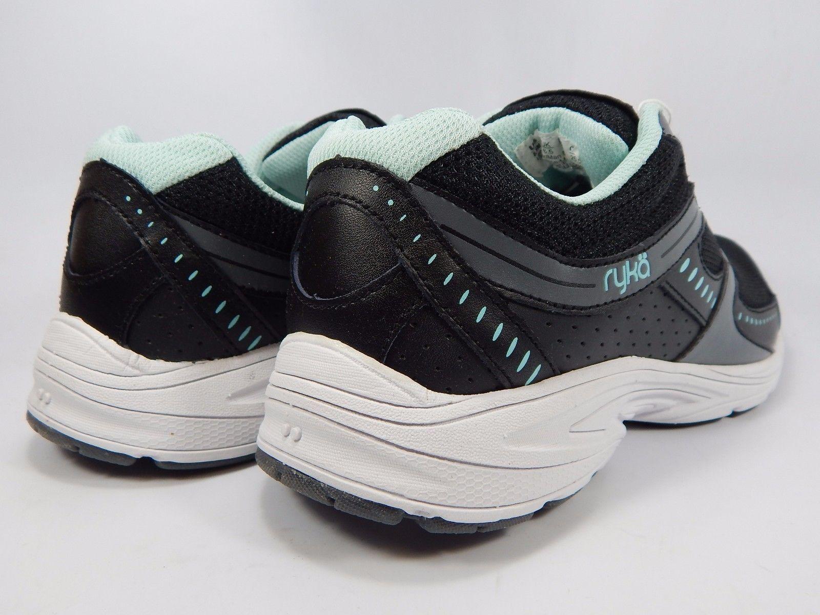 Ryka Circuit SMT Women's Running Shoes Size US 8 M (B) EU 39 Black Aqua Blue