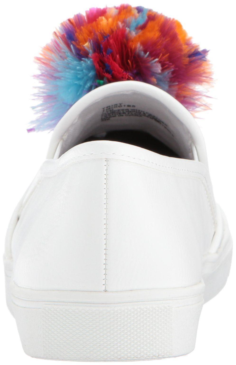 Blue by Betsey Johnson Women's Trixy Sneaker White 9.5 M US