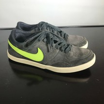 NIKE Men's Grey Suede Sneakers Size 10. Casual or Skateboard shoes. - $17.82