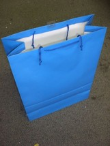 """Hallmark Medium Party Present Gift Bag Blue Paper 18"""" x 13"""" x 6"""" Pack of 8 Bags - $17.75"""