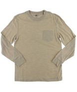Club Room Men's Jersey Cotton Basic T-Shirt Toasted Beige Size X-Large - $14.84