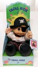 Good Luck Troll Kidz SINBAD Pirate Doll Jolly Roger Russ Berrie Buccanee... - $39.59