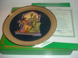 Loves Sweet Vow Precious Moments Plate Royal Cornwall w/ COA and Box 1981 - $18.99