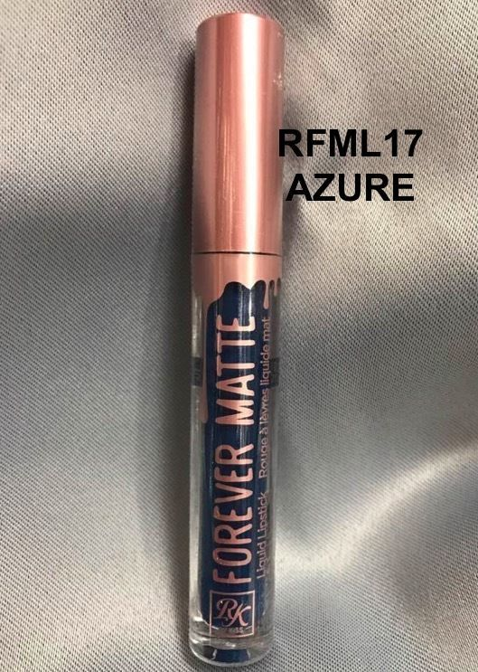 Primary image for RK BY RUBY KISSES FOREVER MATTE LIQUID LIPSTICK 'RFML17 AZURE'