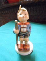 "Vintage Goebel Figurine ""Little Hiker"" W.Germany..6"" ..Sale..Free Postage Usa - $31.68"