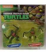 Teenage Mutant Ninja Turtles Leo & Mikey Mini Figure 2 Pack - $13.16