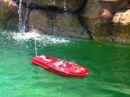 "Ready To Run Remote Control Aquarama Model Speed Boat 18"" - $129.99"