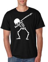 Men's T Shirt Dabbing Skeleton Tee Cool Hip Hop Dab Skull Shirt Gift - $17.94+