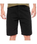 Arizona Flat-Front Shorts New Size 31W Msrp $34.00 True Black - $14.99