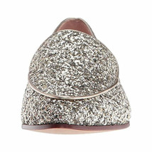 Kate Spade Calliope Glitter Loafer Style Flat Leather Shoes Size 6.5 - $75.00