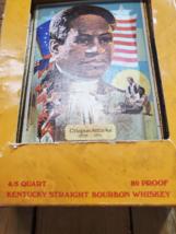 Crispus Attucks EMPTY Jim Beam Decanter with original box Collectors Edition image 8